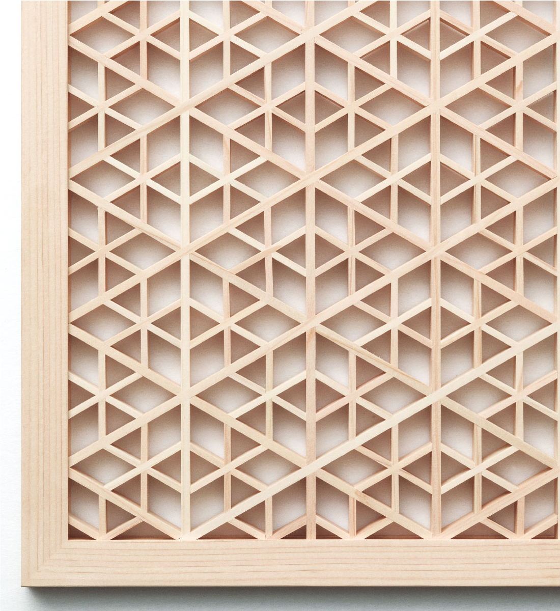 Ornamental Woodwork Panel TN107 Mikado