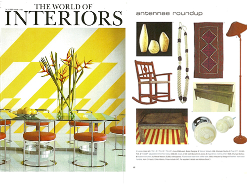 World of Interiors October issue 2008