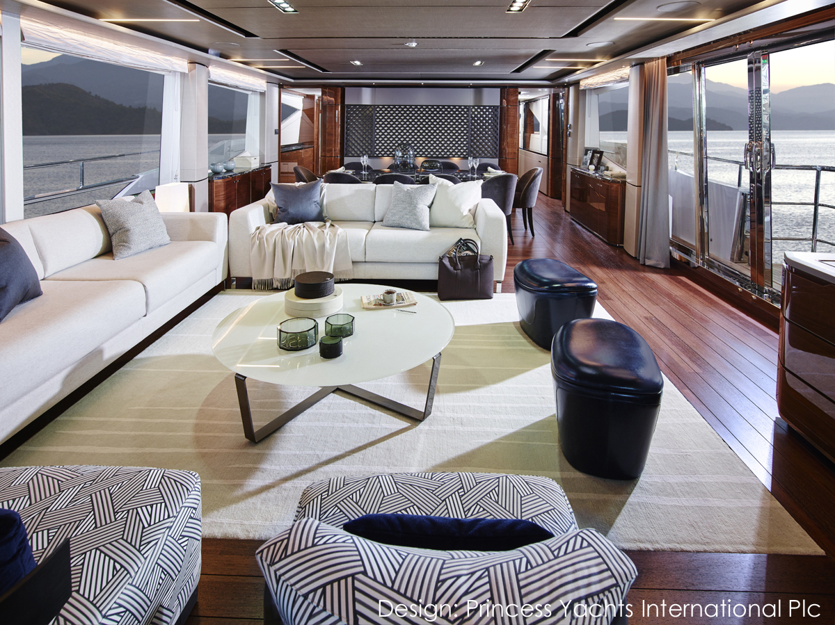 Princess Yachts 30M Saloon