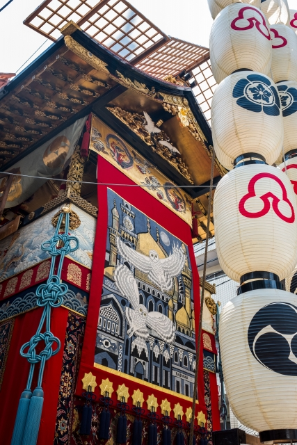 Float at Gion Festival