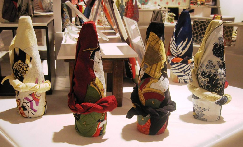 Furoshiki wrapping 2