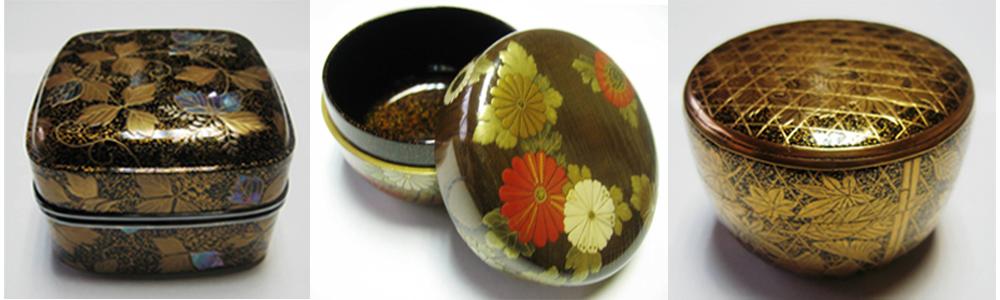 Intricate Manju lacquerware