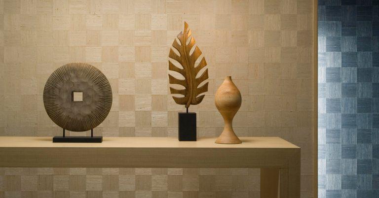 Woven Wood Wallpaper