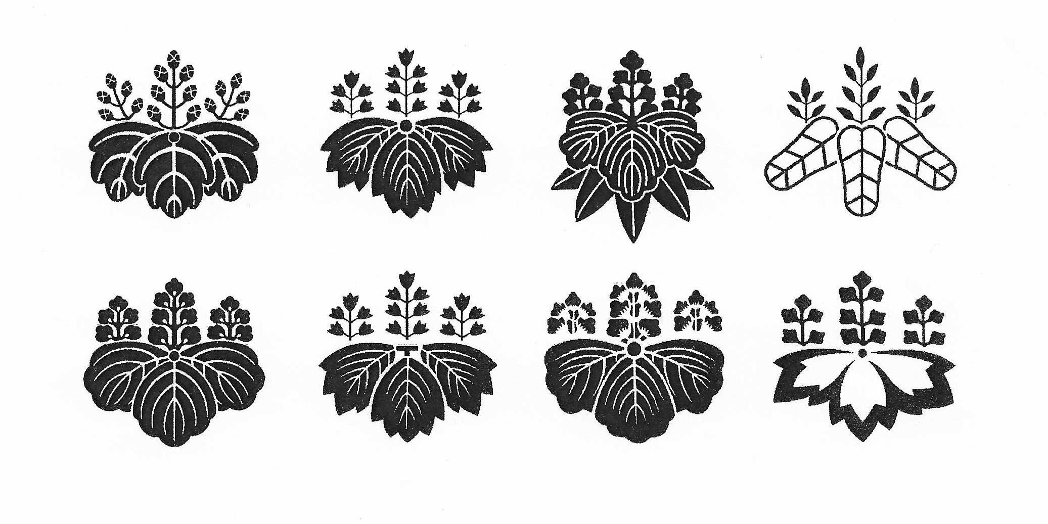 Paulownia Family Crests