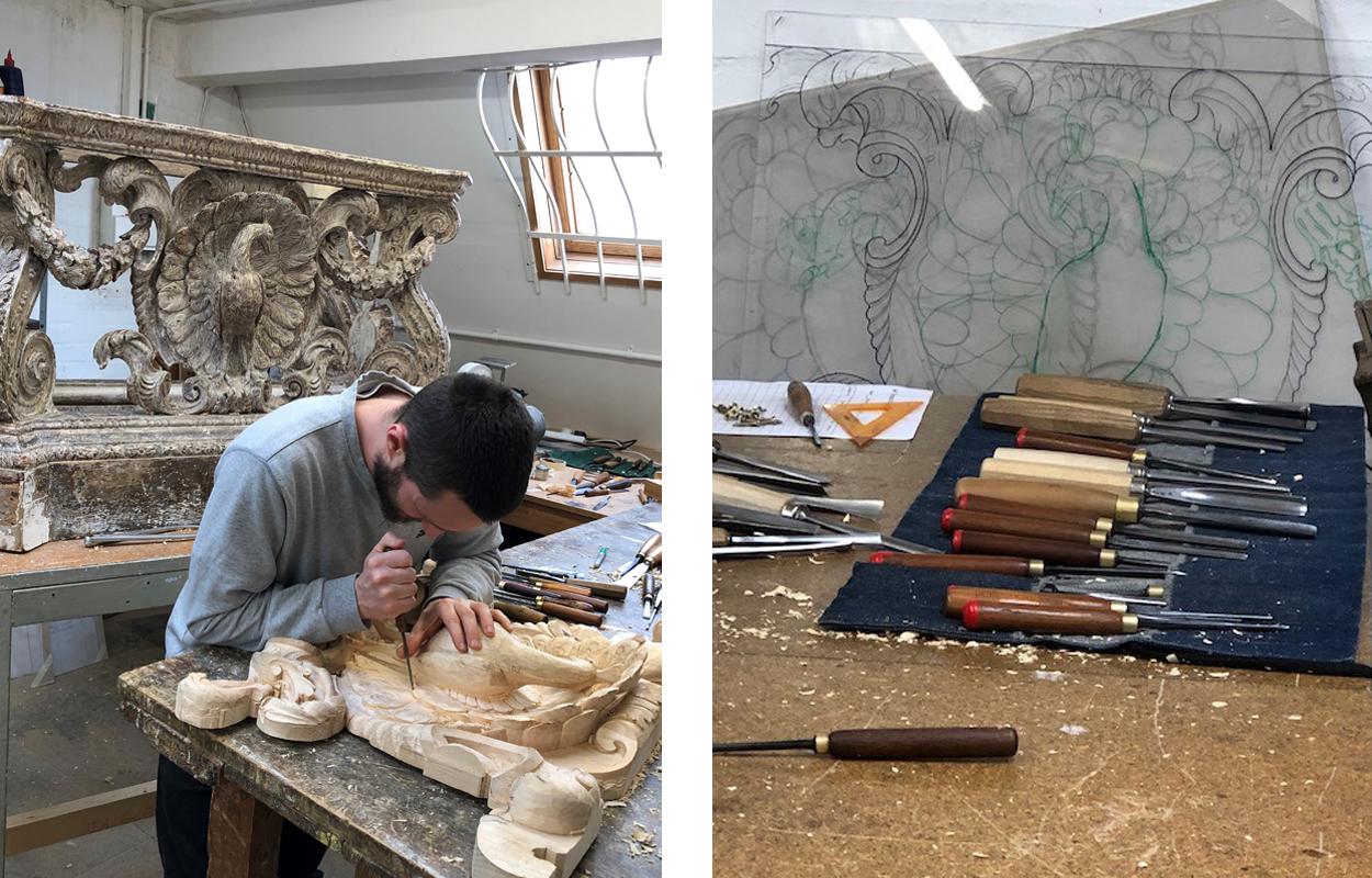 W Thomas Restorations at work