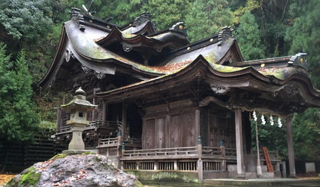 Okada Shrine of washi Goddess